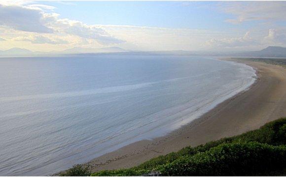 Cardigan Bay in Wales