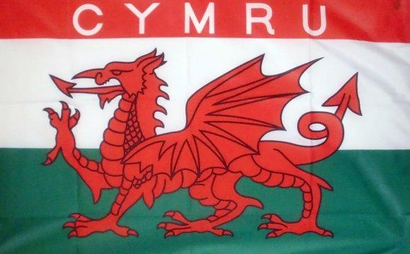 CYMRU WALES - 18 X 12 FLAG