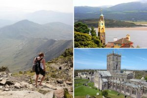 Snowdonia, Portmeirion and St David's Cathedral have all made it onto Lonely Planet's Ultimate Travelist