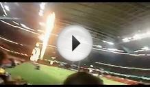 My trip to see Wales vs Fiji (rugby)